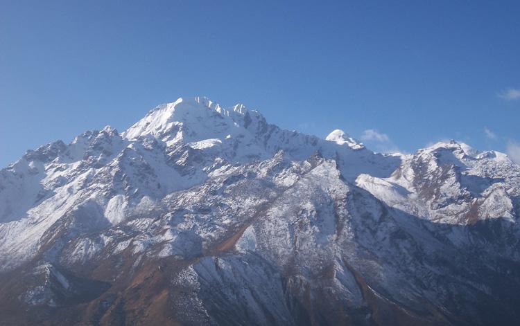 Ganja-La-Chuli (Naya Kang) Pek in Langtang region